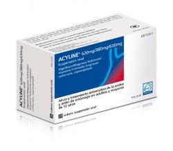 ACYLINE (20 SOBRES SUSPENSION ORAL 10 ML )
