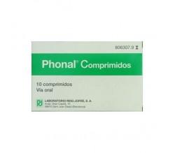 PHONAL (10 COMPRIMIDOS PARA CHUPAR )