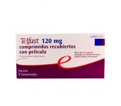 TELFAST (120 MG 7 COMPRIMIDOS RECUBIERTOS )