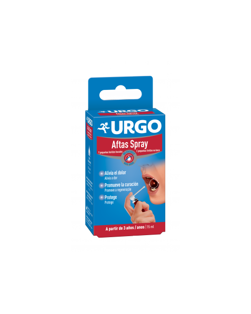 urgo aftas spray 15 ml